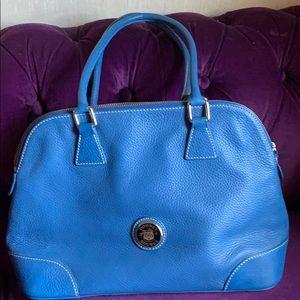 Dooney & Bourke domed satchel shoulder bag